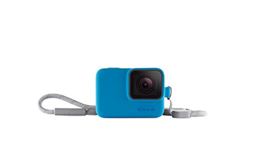 Lens Sleeve Kit - GoPro Sleeve + Lanyard in Bluebird (Gopro Official Accessory)