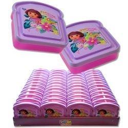 Disney Bread Shaped Sandwich Container (Dora the explorer) by Zak -
