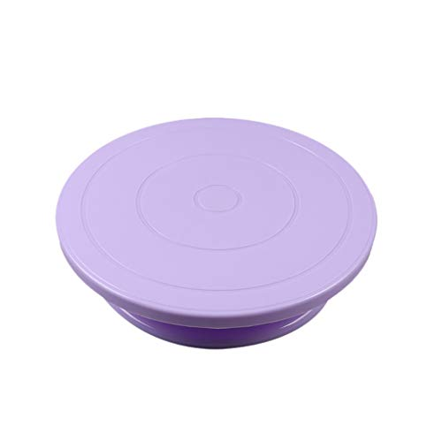 OrchidAmor Cake Decorating Turntable Rotating Revolving Icing Kitchen Display Stand 28cm 2019 New -