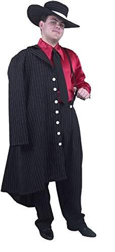 Adult Pink Black Zoot Suit Costume (Sz:X-Lg 46-48) -