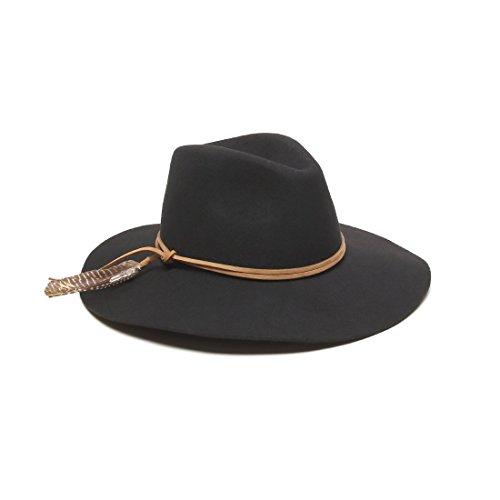 ale-by-alessandra-womens-kaci-boho-floppy-felt-fedora-with-leather-trim-black-one-size
