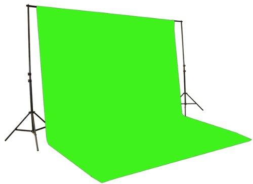 Fancierstudio Chromakey Green Screen Kit 1000 Watt Video Lighting Kit Photo Studio Kit Umbrella Softbox Kit By Fancierstudio