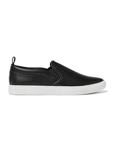 ZARA Damen Schwarzer Sneaker Aus Leder 2322/302