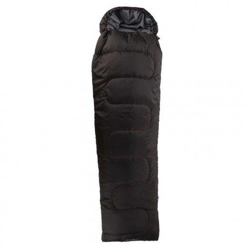 Saco de dormir S10 vertical L Quechua negro rojo: Amazon.es: Deportes y aire libre