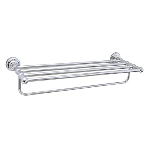 "MODONA 24"" Wall Mounted Towel Rack – Polished Chrome – Viola Series"