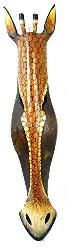 WorldBazzar Scratch and DENT Sale African Giraffe Mask Extra Large Jungle Art 32