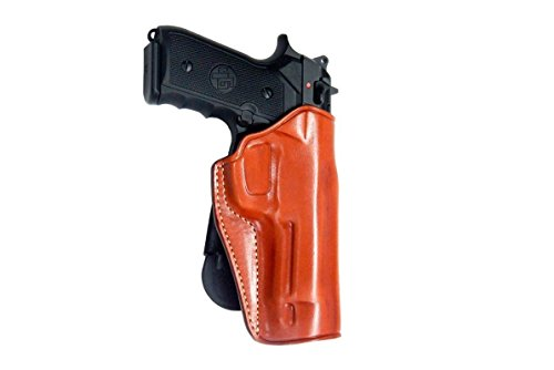 S&W M&P BODYGUARD .380 NO LASER Leather Paddle Holster (O...