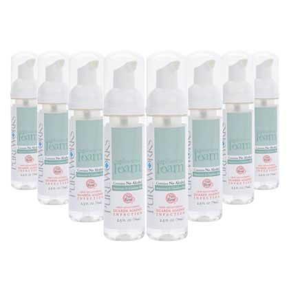 2.5 Ounce Antibacterial (Anti Bacterial Foam 2.5oz Case of 8)