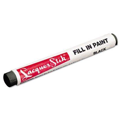 Markal Lacquer-Stik Fill-In Paint Marker, Black (MRK51123)