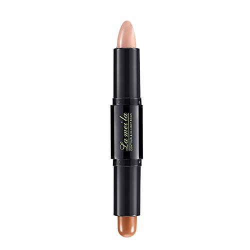 Highlighter Stick,Long-Lasting Double Headed Repair Trimming Highlighter Shiny Stick Concealer Bar By gLoaSublim 2#