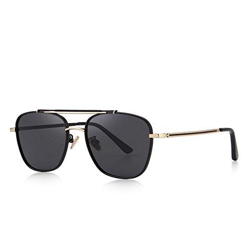 marrón cuadrados gafas 100 Black anteojos protección con de C01 UV masculina de Dibujo hombres sol TIANLIANG04 moda polarizadas C05 zq6xHwqa