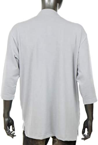 コーディガン メンズ カーディガン 七分袖 羽織り キレイめ 春夏 ロングシーズン ちょいワル Q020227-05HY