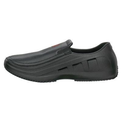 MOZO 3812BLACKM8.0 Sharkz Black Size 8 Men's Kitchen Shoe - Pair