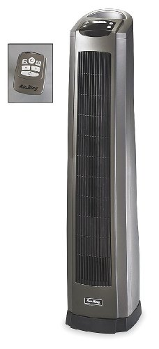 Air King 8566 Oscillating Ceramic Heater with Programmable Thermostat, 8-hour Timer and Remote (Air King Heater)