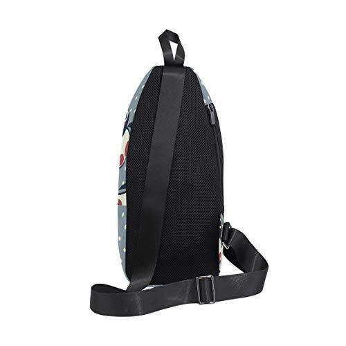 Bag Backpack Men Women One Bennigiry Shoulder Sling Penguin Chest For Crossbody Bags amp; 81Af0qwg