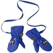 Manbi Baby Toddler Snowflake Mittens with detachable glove retainer