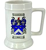 Beyers Family Crest Stein / Beyers Coat of Arms Stein