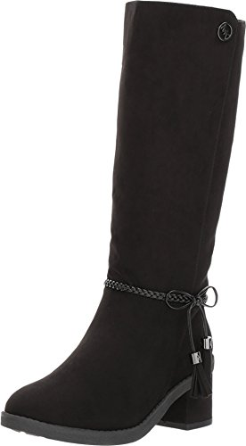 Michael Kors Fawn Simmy (Youth) Black (Michael Kors Boots For Big Kids)