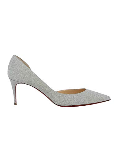 Christian Louboutin Luxury Fashion Womens Pumps Summer Grey