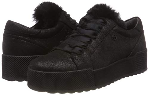 Tamaris Mujer Negro Zapatillas black 21 33 Metallic Para 23726 v4rBvqT