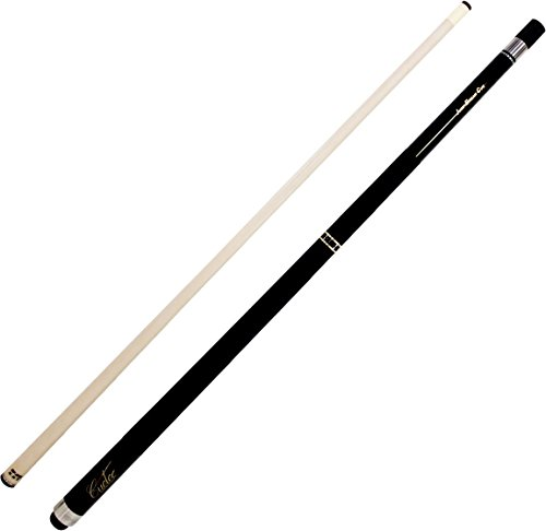 (Cuetec CT296 - Black Finish Break Jump Separated Ring Pool Cue Stick)