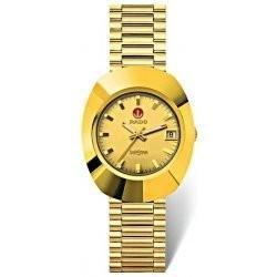 Rado R12431263 reloj para hombre Original - con caja de acero inoxidable Dorado Movimiento automático: Amazon.es: Relojes