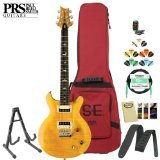 paul-reed-smith-se-santana-electric-guitar-kit-santana-yellow-includes-tuner-cable-strap-stand-picks