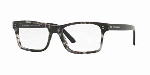 Burberry Men's BE2222F Eyeglasses Matte Grey Havana 55mm