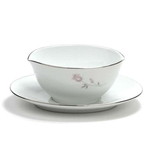 Pasadena by Noritake, China Gravy Boat, Attached Tray (Gravy Noritake China Boat)