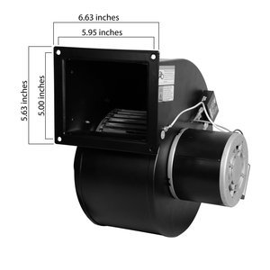 R7-RB445 Rotom Replacement Blower For Dayton 4C445, 1TDT2, 4YJ32 - 115 Volt - 549 CFM by Rotom (Image #2)