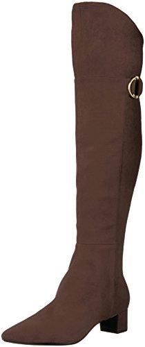 Calvin Klein Women's Georgeanna Over The Knee Boot, Brown, 9 Medium US by Calvin Klein