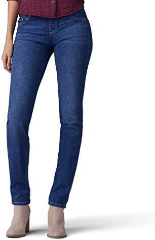 Lee Women's Sculpting Fit Slim Leg Pull-On Jeans