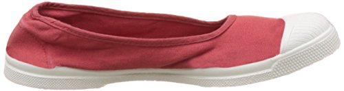 Bensimon Tennis Ballerine Femme - Botas Mujer Rouge (Rouge)