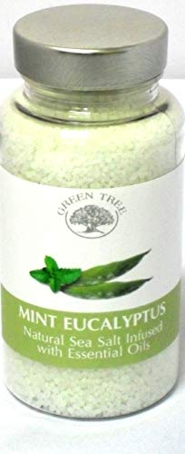 GREEN TREE CANDLE 5060116872309 Eucalyptus Mint Sea Salt Aroma Burner