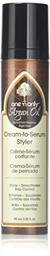 one 'n only Argan Oil Cream To Serum Styler Derived from Mor