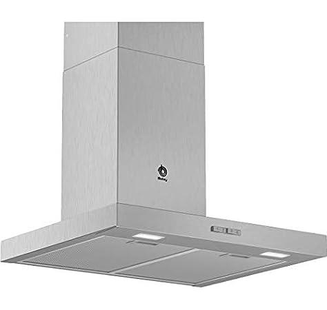 Campana - Balay 3BC076MX, Decorativa, 590m3/h, 3 posiciones, 75 cm, Inox: 195.63: Amazon.es: Grandes electrodomésticos