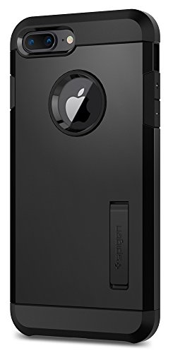 Spigen Tough Armor [2nd Generation] iPhone 8 Plus Case / iPhone 7 Plus Case with Kickstand Air Cushion Technology for Apple iPhone 8 Plus (2017) / iPhone 7 Plus (2016) - Black