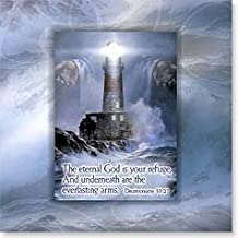 Unique Greeting Card with Magnet! Turn Your Card Into a Gift! Inspirational ~ Deuteronomy