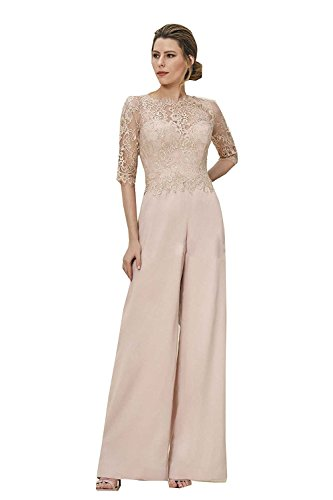 Kelaixiang Strapless Mother Of The Bride Pants Suit With Hollow Lace Jacket (2) by Kelaixiang