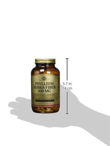 Solgar - Psyllium Husks Fiber 500 mg, 200 Vegetable Capsules by Solgar (Image #3)