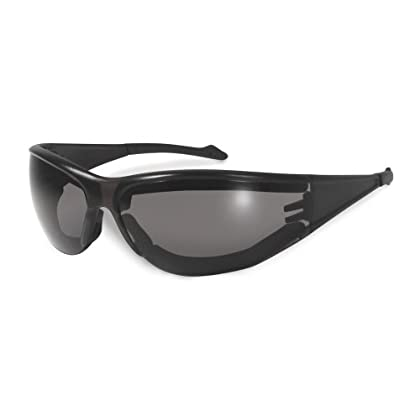 Image of Eyewear Retainers SSP Eyewear Safety Glasses with Black Frames and Smoked Anti-Fog Lenses, 12 Pack, WASHOUGAL PL SM A/F
