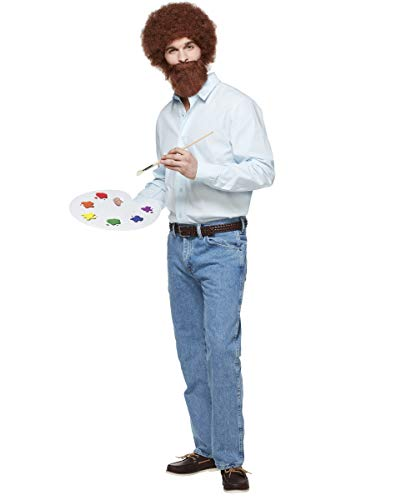 Adult Bob Ross Costume | Officially Licensed