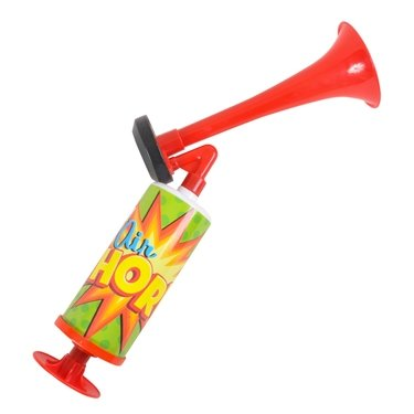 Rhode Island Novelty Super Blast Hand Pump Air Horn - Never Runs out