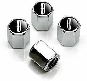 Modern Design Top Quality Lincoln Logo Chrome Tire Stem Valve Caps