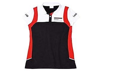 Porsche Damen Polo-Shirt, schwarz/rot/weiß, Gr. XL, Motorsport ...