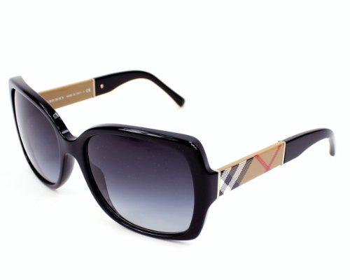 Burberry Be4160 3433T3 Sunglasses Black