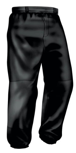 Easton Youth Pro Pull Up Pant, Black, Large