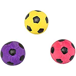 Ethical 2-Inch Latex Soccer Ball Dog Toy