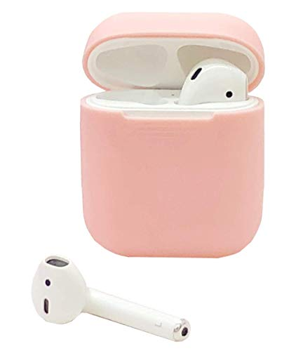 HappyCover Compatible for Airpods Case 2 & 1, Protective Silicone Cover Skin for Airpods Charging Case (Baby Pink)