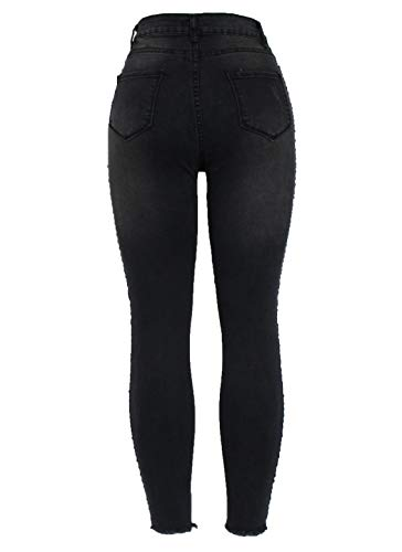 Fashion Unique Black 03 Skinny Jeans Femme Taille Barfly qCXdwq
